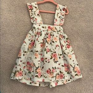 Adorable Flower dress with bow
